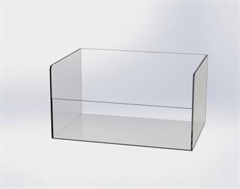 Plexiglaslåda - 300x200x160/90